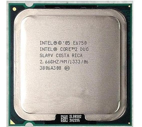 Proc. Intel Core 2 Duo E6750 2.66ghz 4mb De Cache