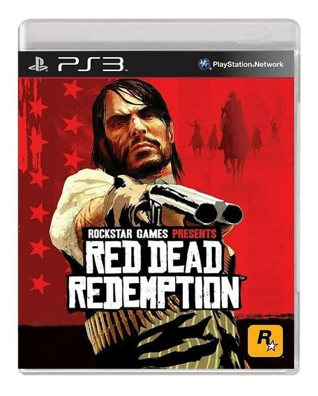 Red Dead Redemption - Ps3 - Usado - Original
