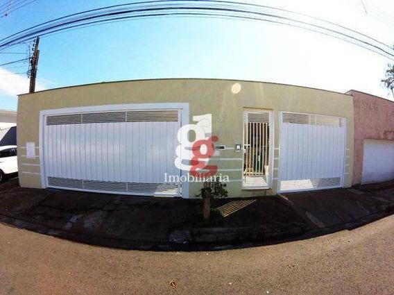 Casa Com 4 Dormitórios À Venda, 176 M² Por R$ 750.000,00 - Lago Parque - Londrina/pr - Ca0023