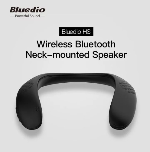 Bluedio Hs Pescoço-montado Bluetooth Alto-falante Sem Fio