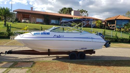 Lancha Focker 215 2009  Agua Doce Desde Zero
