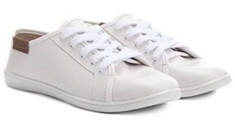 Tênis Branco Casual N 35.