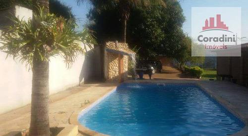 Chácara Residencial À Venda, Recanto Da Fazenda, Nova Odessa. - Ch0051