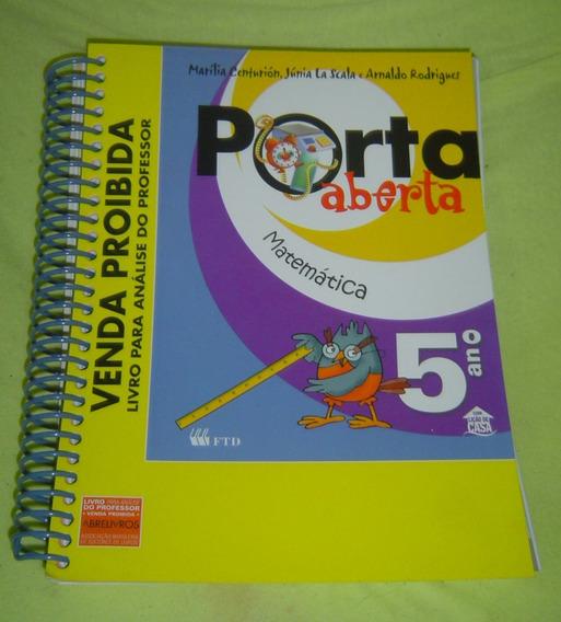 Porta Aberta Matemática - 5º Ano - Marilia Centurion