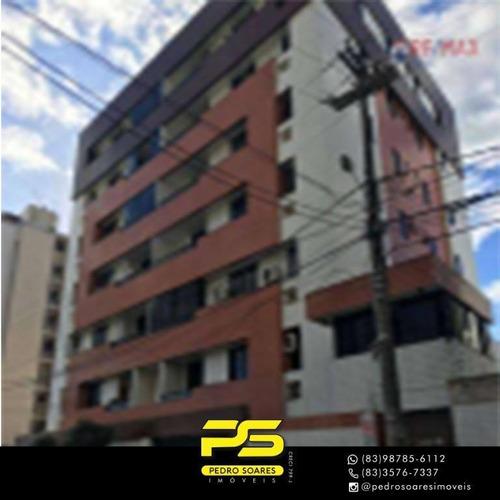 Apartamento Com 2 Dormitórios À Venda, 155 M² Por R$ 249.000 - Catolé - Campina Grande/pb - Ap3565