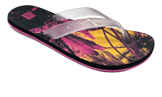 Chinelo Kenner Summer Jungle Masculino Rosa - Original