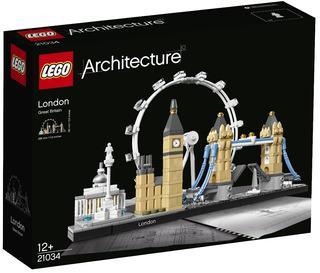 Lego 21034 Architecture Londres London 468 Pzas
