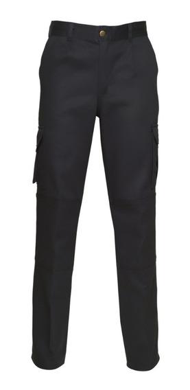 Pantalon De Trabajo Ombu Modelo Cargo Con Refuerzos