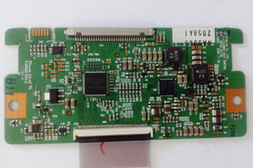 Placa T-con Com Cabo Flat Tv Semp Toshiba- Lc3246(b)wda
