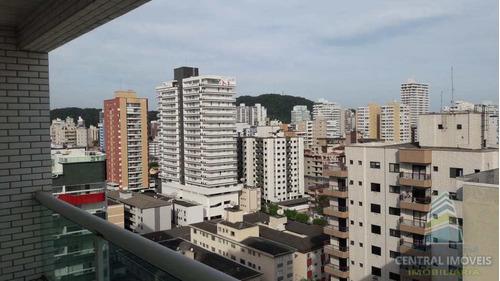 Apartamento Com 3 Dorms, Canto Do Forte, Praia Grande - R$ 464 Mil, Cod: 9407 - V9407