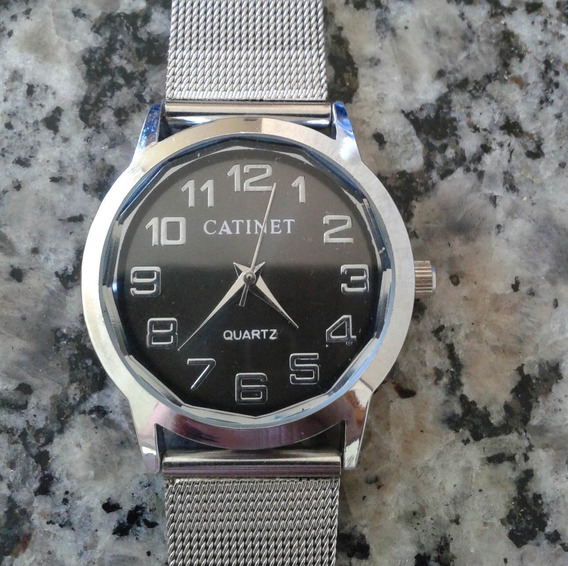 Relógio De Pulso Feminino Catinet Quartz