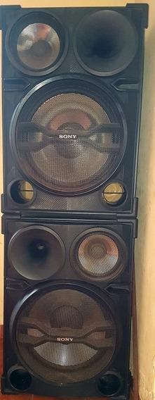 2 Caixas Acústicas De Som Sony Sh-2000 Original