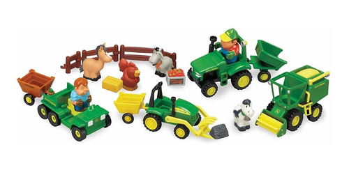 John Deere St Farming Fun, Fun On The Farm Playset