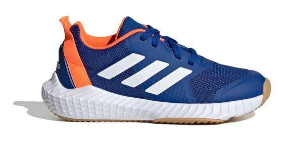 adidas Zapatillas Running Niño Fortagym K Azul - Naranja