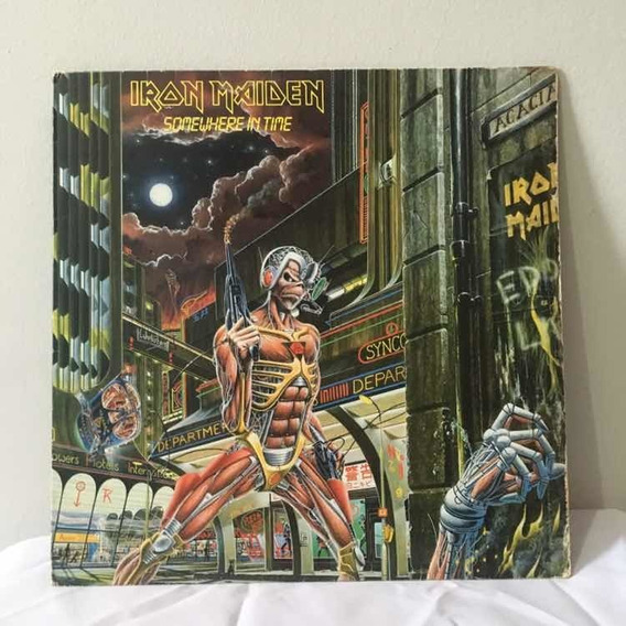 Lp Iron Maiden - Somewhere In Time