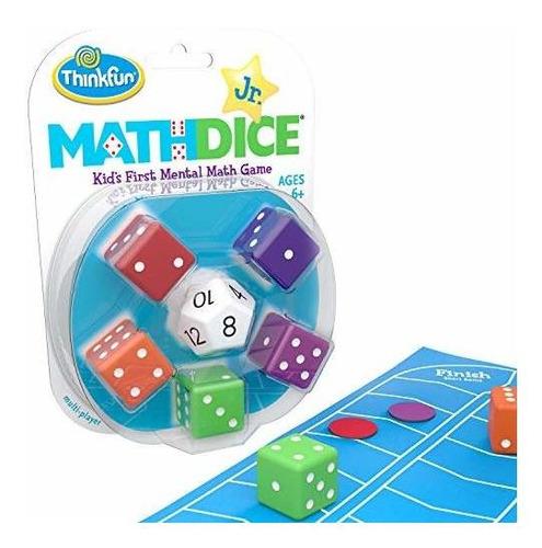 Thinkfun, Dados De Matemáticas Para Niños