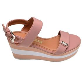 eb7ac8256 Sandalia Santa Lolla Anabela - Sapatos no Mercado Livre Brasil