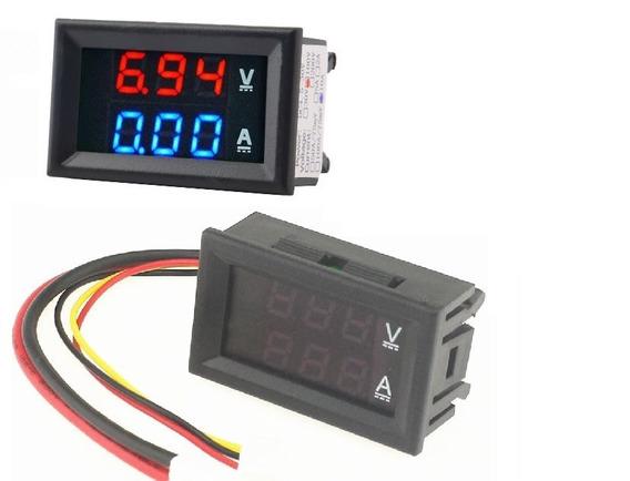 Voltímetro Amperímetro Digital 100v X 10a