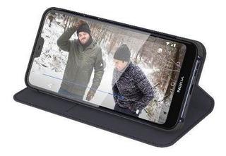 Funda Flip Cover Entertainment Nokia 7.1 Azul