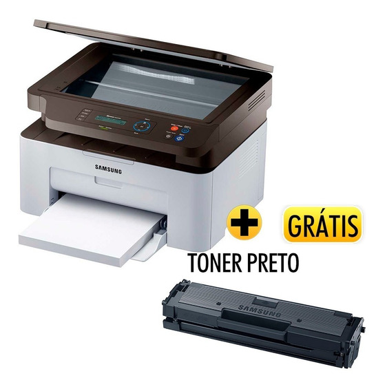 Multifuncional Laser Xpress Sl-m2070w Samsung+grátis Toner