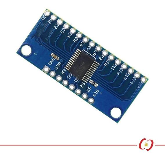 Conversor Analógico / Digital Mux - 74hc4067