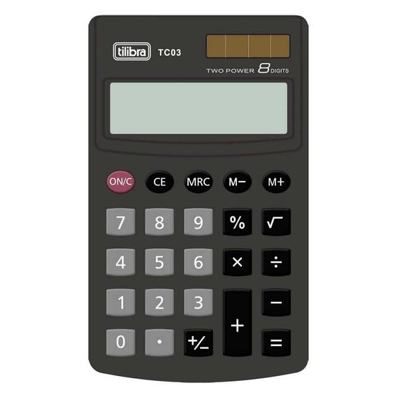 Calculadora Tc03 Preto Tilibra