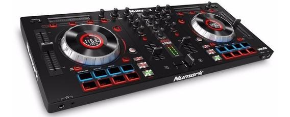 Controlador Dj Numark Mixtrack Platinum Con Pantalla