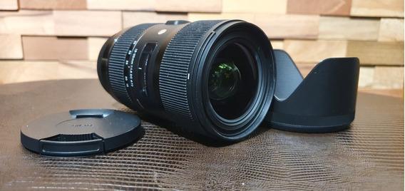 Lente Sigma 18-35mm F/1.8 Canon (novíssima)