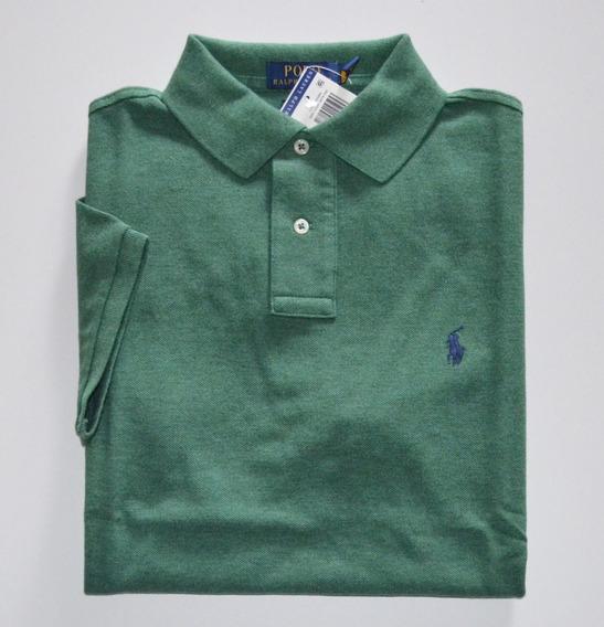 Camisa Polo Ralph Lauren Tamanho M Nova Original Custom Fit