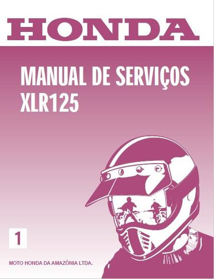 Manual De Serviço Honda Xlr 125 Pdf