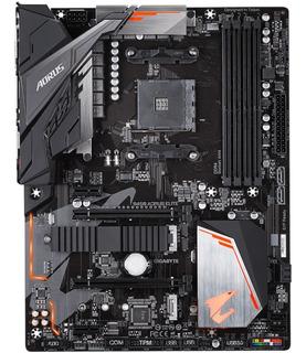 Tarjeta Madre Gigabyte B450 Aorus Elite Motherboard Socket Am4 Ryzen Amd Nueva