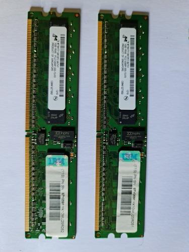 Ibm 1gb 1rx8 Pc2-5300p Ddr2 Ecc Dimm Memoria 97y0591 Mt9htf1