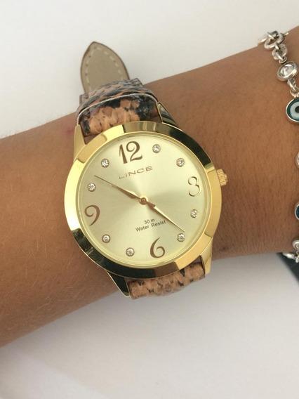 Relógio Lince Onça