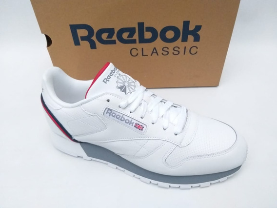 Tênis Reebok Classic Leather Mu Branco Sneaker Original