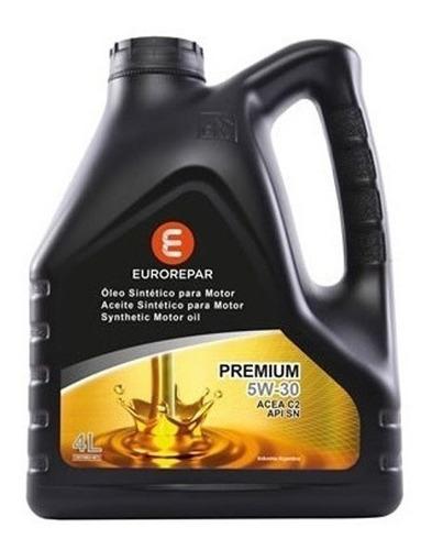 Imagen 1 de 3 de Aceite 5w30 5 Lts. Eurorepar Grupo Psa 100% Sintético