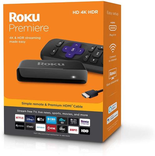 Roku Premier Smart Tv 4k Hdr Hdmi Netflix Streaming C/remoto
