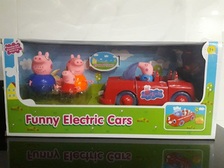 Funny Electric Cars De Peppa Pig Y Familia