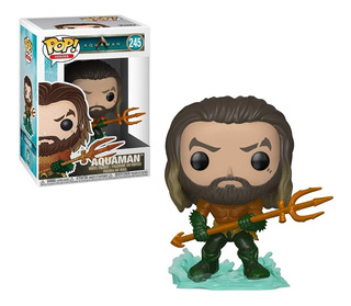 Funko Pop Heroes Aquaman Arthur Curry In Hero Suit