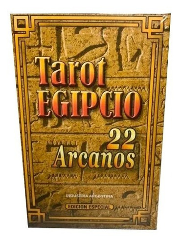 Tarot Egipcio 22 Arcanos Mayores.ed.especial