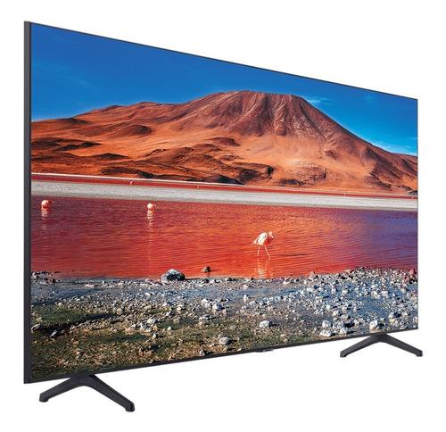 Imagen 1 de 8 de Smart Tv 4k 55 Pulgadas Samsung Un55tu7000 Crystal Hdr Cuota
