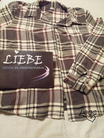 Camisa A Cuadros Talle 6 Liebe Indumentaria