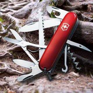 Canivete Victorinox Huntsman Vermelho Azul Ou Preto - Perfeito Estado!!