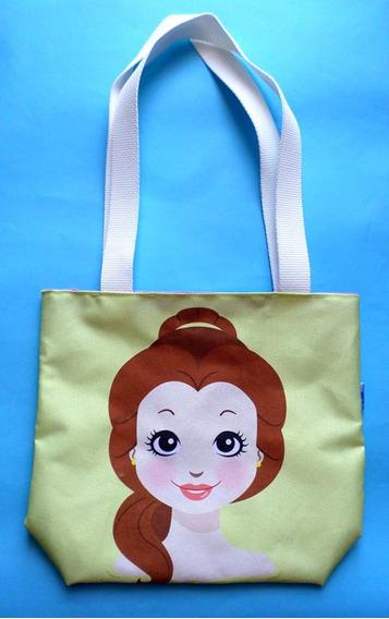 Mini Tote Bag Cartera De La Bella Y La Bestia Disney
