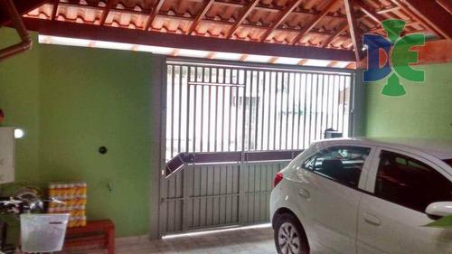 Casa Com 2 Dormitórios À Venda, 74 M² Por R$ 210.000 - Cidade Salvador - Jacareí/sp - Ca0302