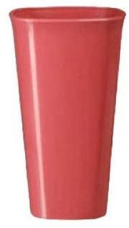 Vaso Mediano 500 Ml Cuadrado De Plástico. Incluye 48 Piezas
