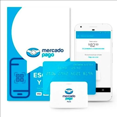 Imagen 1 de 4 de Mercado Pago Point Bluetooth Lector De Tarjetas Qr