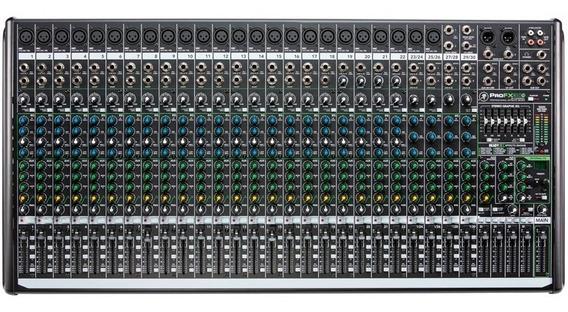 Mesa De Som Mackie 30 Canais Profx30 V2 Efeito Phantom Power