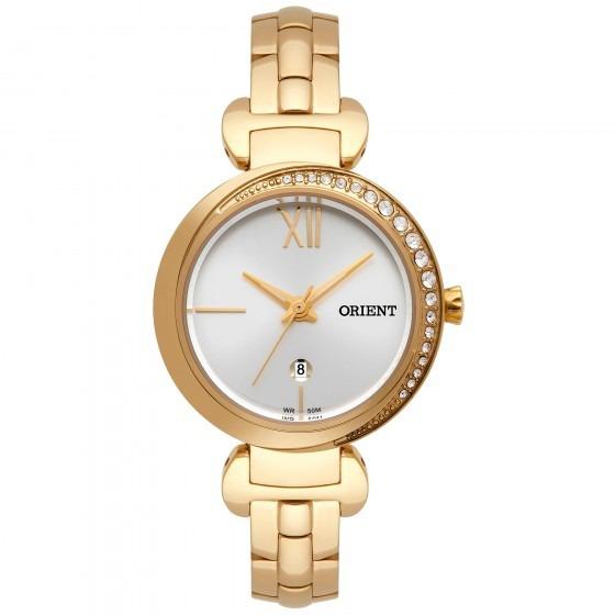Relógio Orient Feminino Fgss1158 S3kx Dourado - Loja Refinado