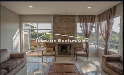 Casa Com 4 Dormitórios Para Alugar, 416 M² Por R$ 10.000 - Santa Felicidade - Curitiba/pr - Ca1787