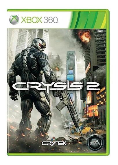 Jogo Crysis 2 Xbox 360 Mídia Física Lacrado Pronta Entrega